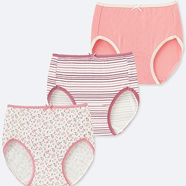 GIRLS SHORTS 3 PACK, PINK, medium