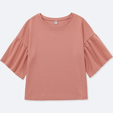 GIRLS FLARE HALF SLEEVE T-SHIRT