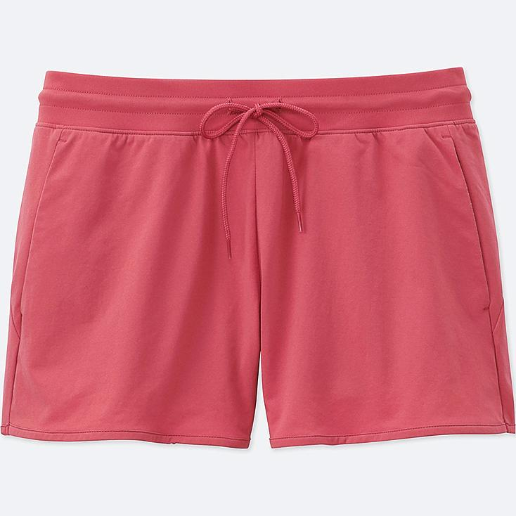 WOMEN DRY-EX ULTRA STRETCH SHORTS, PINK, large