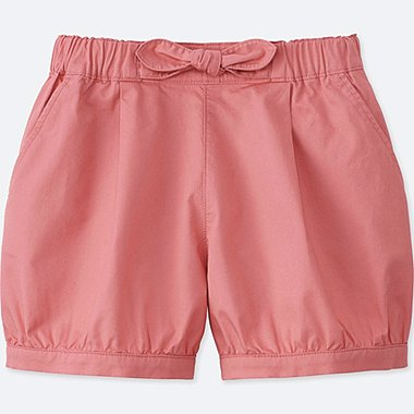 GIRLS EASY PUMPKIN SHORTS