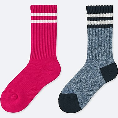 WOMEN HEATTECH SPORTS SOCKS (2 PAIRS)