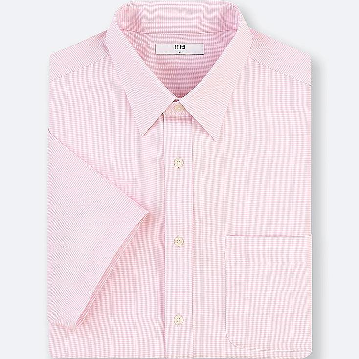 MEN DRY EASY CARE DOBBY SHORT-SLEEVE SHIRT (ONLINE EXCLUSIVE) | Tuggl