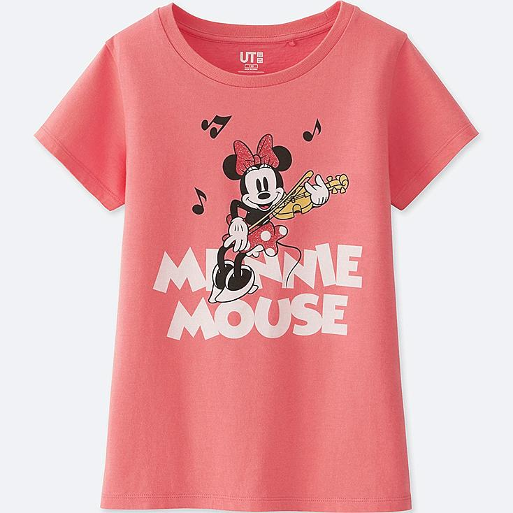KIDS SOUNDS OF DISNEY UT (SHORT-SLEEVE GRAPHIC T-SHIRT), PINK, large