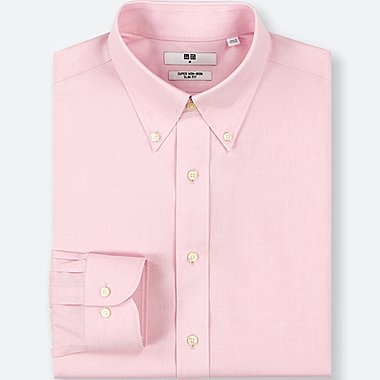 HERREN BÜGELFREI SLIM FIT HEMD (BUTTON-DOWN COLLAR)