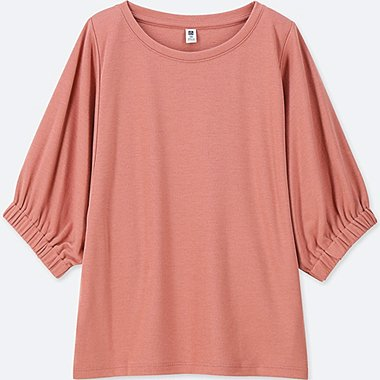 GIRLS DRAPE DOLMAN HALF SLEEVE T-SHIRT