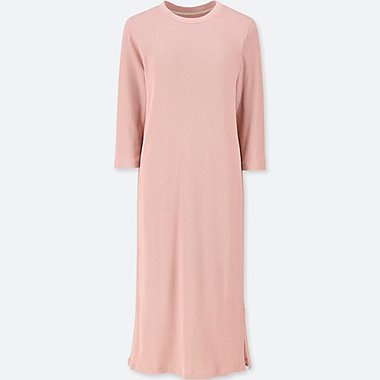 DAMEN BH-KLEID (3/4 ARM, Waffel OPTIK)