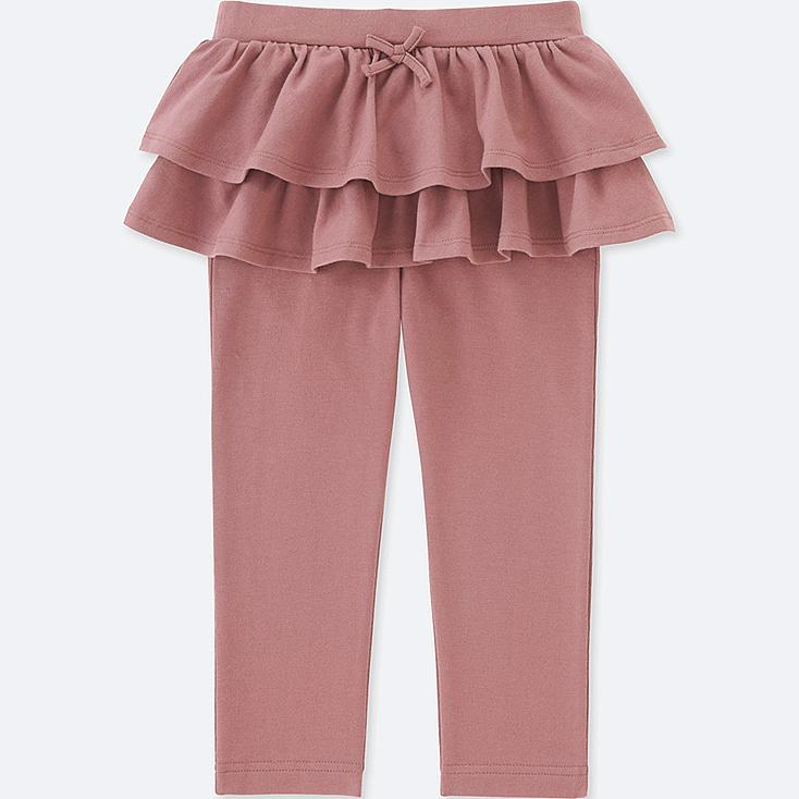 TODDLER FRILL PANTS, PINK, large