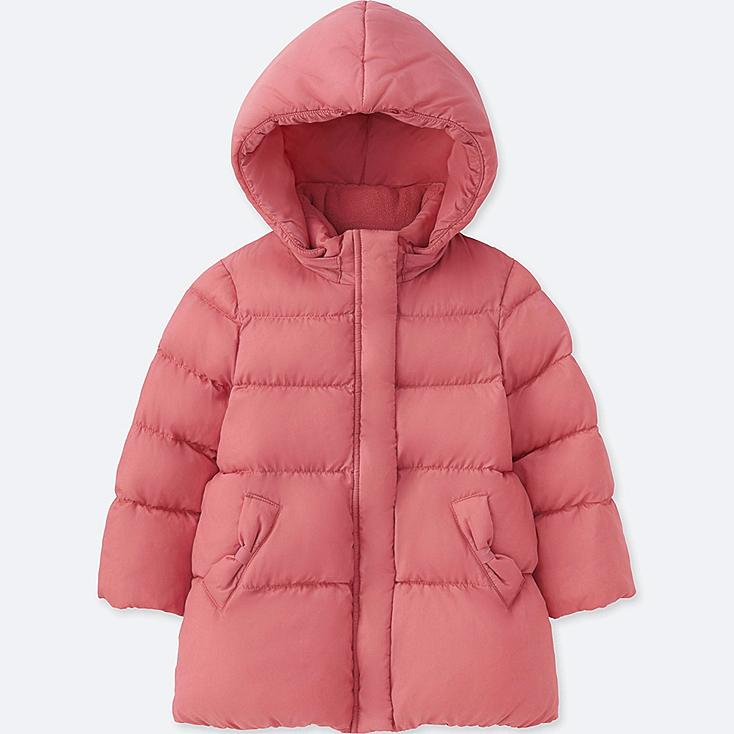 TODDLER WARM PADDED COAT, PINK, large