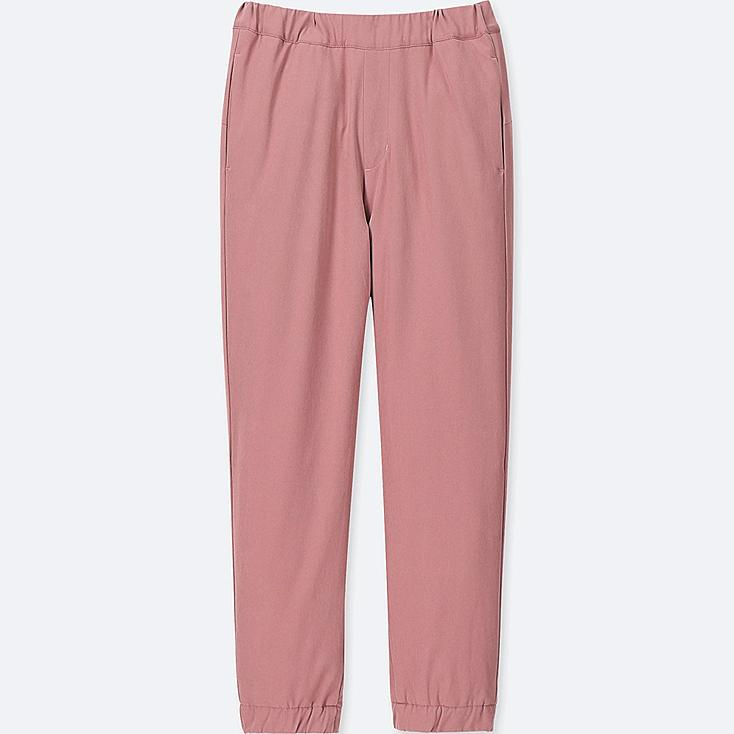 KIDS WARM-LINED JOGGER PANTS, PINK, large