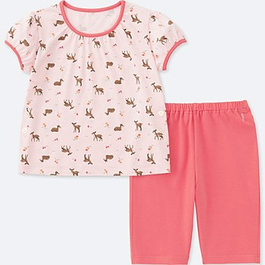 TODDLER DRY SHORT-SLEEVE PAJAMAS (ONLINE EXCLUSIVE), PINK, medium