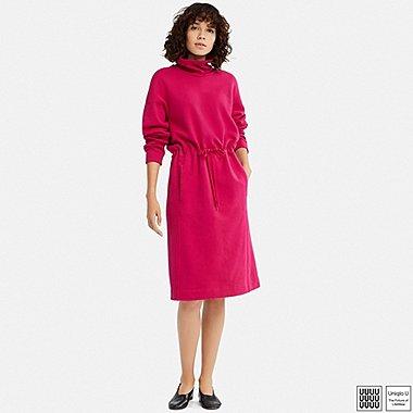 WOMEN UNIQLO U TURTLE NECK LONG SLEEVED SWEATSHIRT DRESS