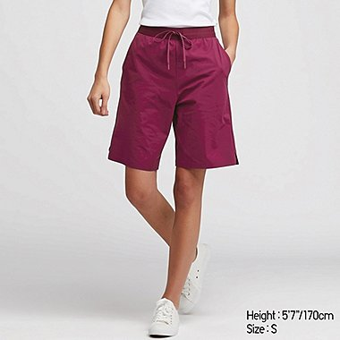 WOMEN ULTRA STRETCH KNEE LENGTH ACTIVE SHORTS