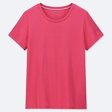WOMEN DRY-EX CREW NECK SHORT SLEEVED T-SHIRT