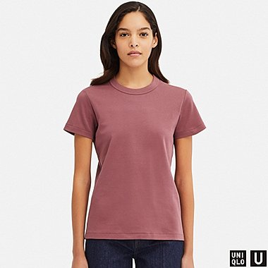685eacc57df9 WOMEN UNIQLO U CREW NECK SHORT SLEEVED T-SHIRT