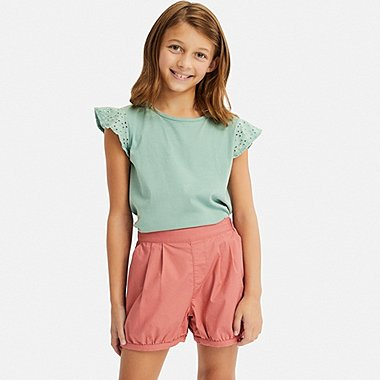 GIRLS EASY PUMPKIN SHORTS, PINK, medium