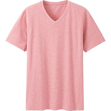 Mens Supima® Cotton V-Neck T-Shirt, RED, medium