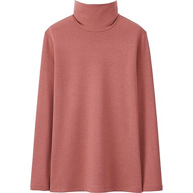 HEATTECH Extra Warm WOMEN Turtle Neck T-Shirt