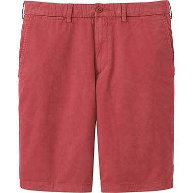 MEN CHINO SHORTS, RED, medium