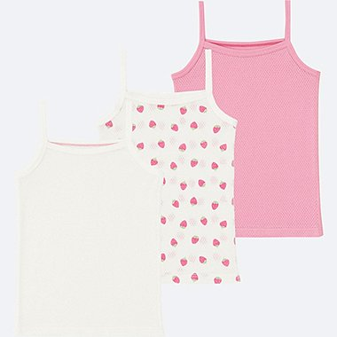 TODDLER Mesh Inner Camisole 3 Pack
