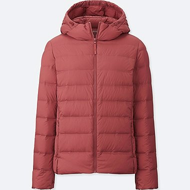 WOMEN ULTRA LIGHT DOWN SEAMLESS HOODED PARKA