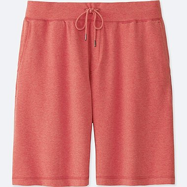 MEN EASY SHORTS, RED, medium