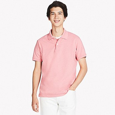 c43c30ae853fc4 MEN DRY PIQUE SHORT-SLEEVE POLO SHIRT