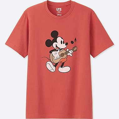 MEN SOUNDS OF DISNEY SHORT-SLEEVE GRAPHIC T-SHIRT, RED, medium