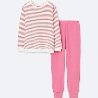 GIRLS ULTRA STRETCH LONG SLEEVE PYJAMA