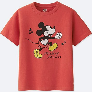 KIDS SOUNDS OF DISNEY GRAPHIC T-SHIRT, RED, medium