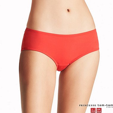 WOMEN PRINCESSE TAM.TAM HIPHUGGER SWIM SHORTS, RED, medium