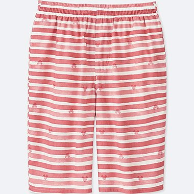 MEN MICKEY AND THE SUN LIGHT COTTON EASY SHORTS, RED, medium