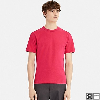 MEN UNIQLO U Crew Neck Short Sleeve T-Shirt