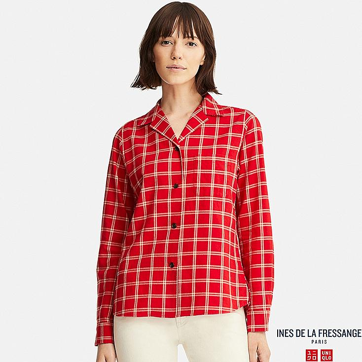 WOMEN INES SOFT FLANNEL SHIRT