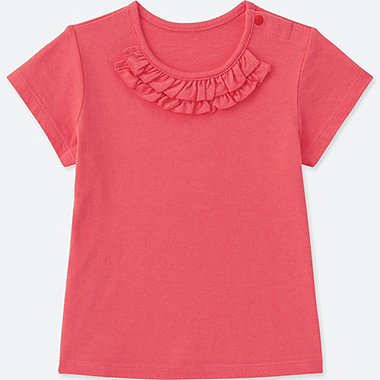 TODDLER CREWNECK SHORT-SLEEVE T-SHIRT (ONLINE EXCLUSIVE), RED, medium