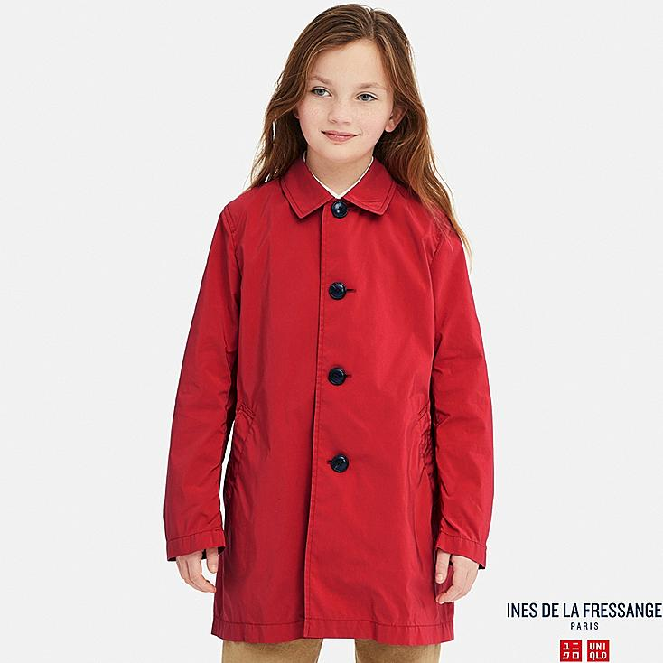 KIDS COAT (INES DE LA FRESSANGE), RED, large