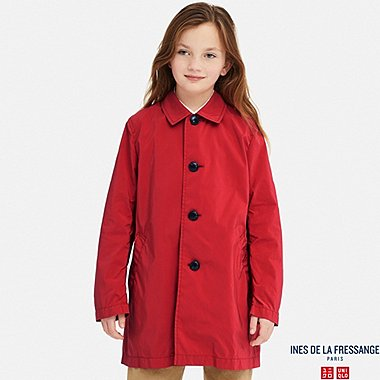 KIDS COAT (INES DE LA FRESSANGE), RED, medium