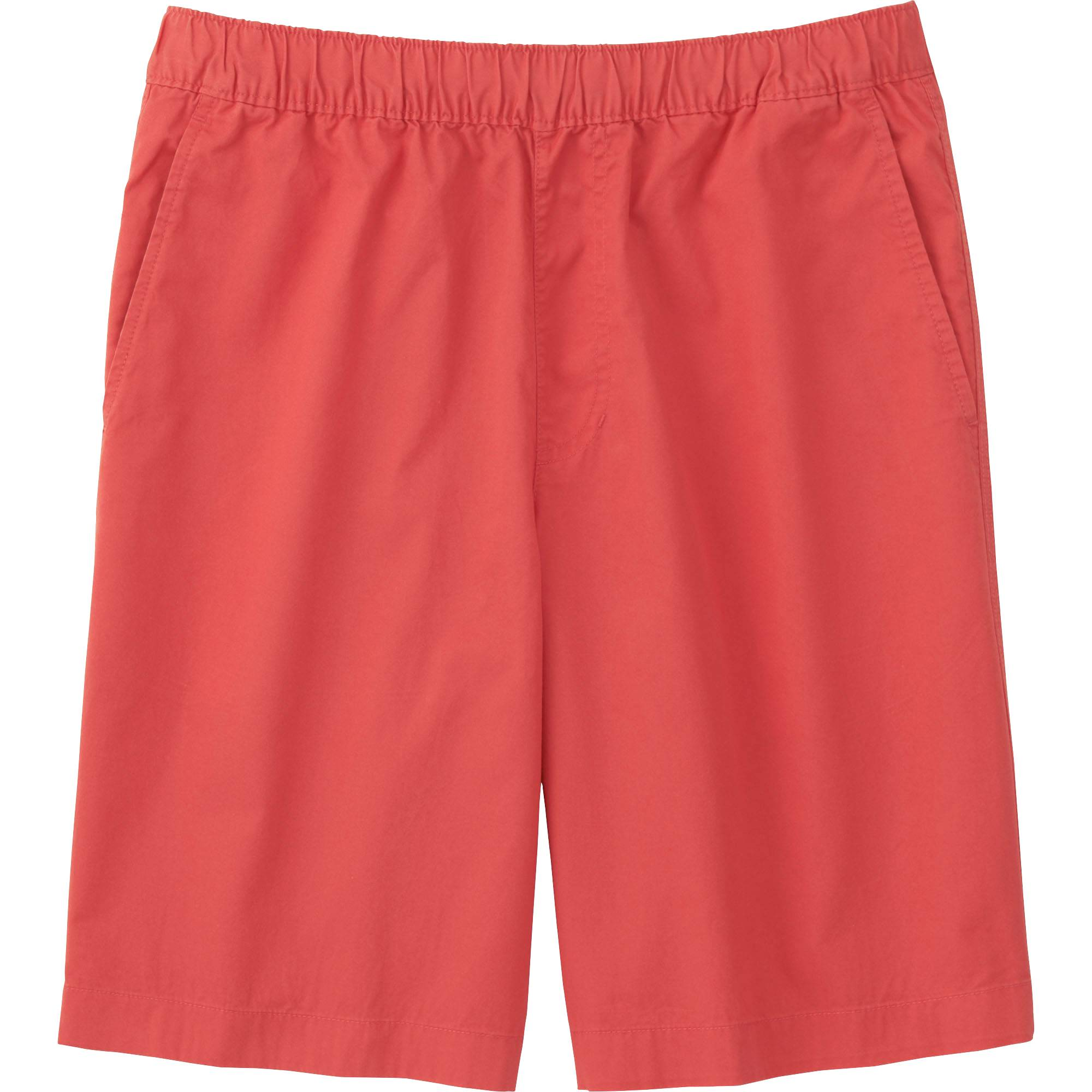 Red Twill Shorts