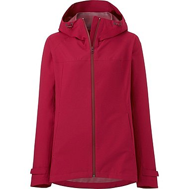 WOMEN Blocktech Hooded Rain Jacket