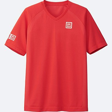 MEN Kei Nishikori Dry-EX Short Sleeve T-Shirt 17Aus