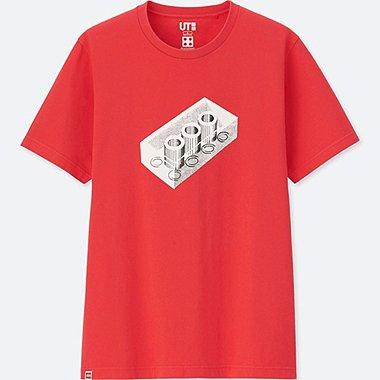 LEGO® SHORT-SLEEVE GRAPHIC T-SHIRT, RED, medium