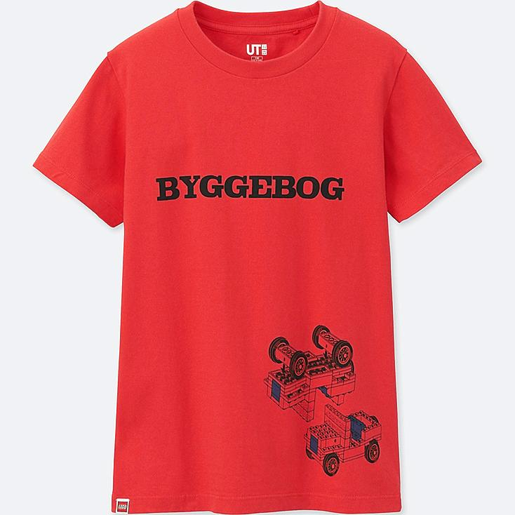 BOYS LEGO® SHORT-SLEEVE GRAPHIC T-SHIRT, RED, large