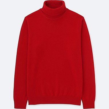 MEN CASHMERE TURTLENECK LONG SLEEVED JUMPER