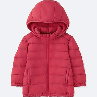 TODDLER LIGHT WARM PADDED FULL-ZIP PARKA, RED, medium