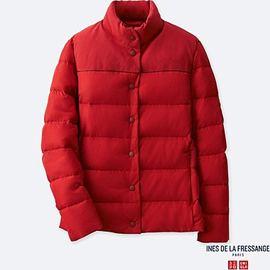 WOMEN DOWN JACKET (INES DE LA FRESSANGE), RED, medium