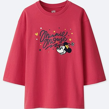 T-SHIRT GRAPHIQUE LOVE & MICKEY MOUSE COLLECTION FEMME