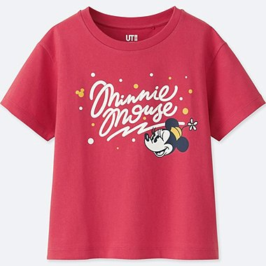 KIDS LOVE & MICKEY MOUSE COLLECTION GRAPHIC T-SHIRT, RED, medium