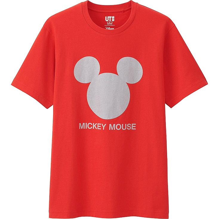 Men's Disney Project Graphic Tee, RED, large