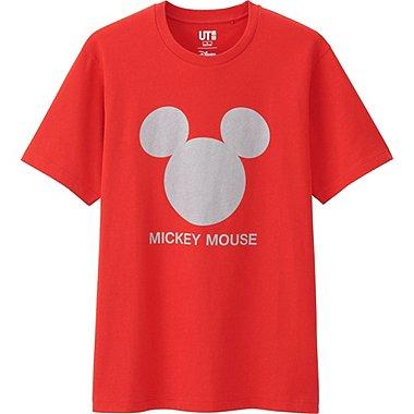 Mens Disney Project Graphic Tee, RED, medium