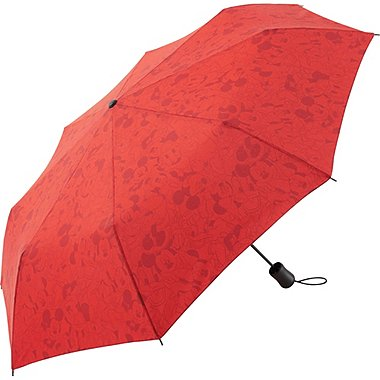 Mens Disney Project Compact Umbrella, RED, medium