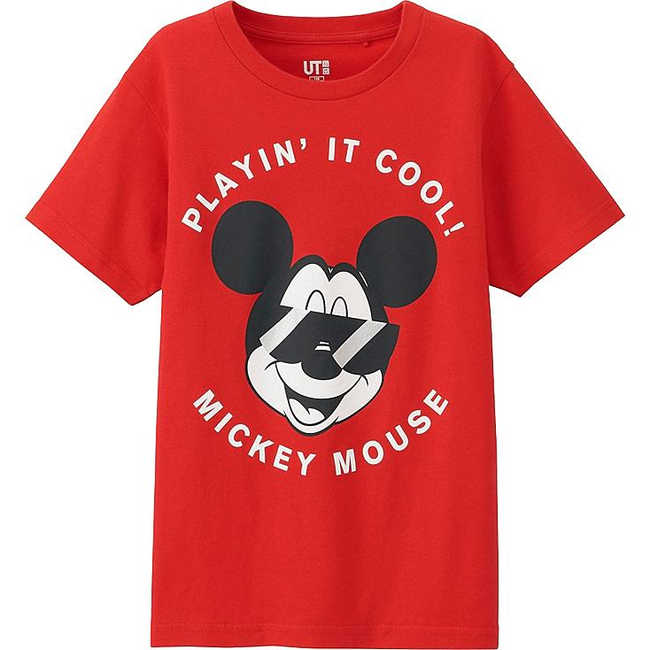 Boys Disney Project T-Shirt, RED, large